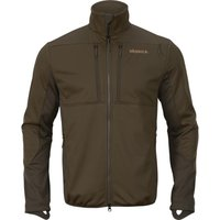 Harkila Mens Mountain Hunter WSP Fleece Hunting Green/Shadow Brown XL