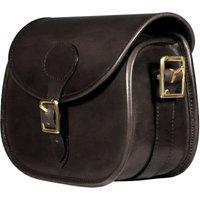 Teales Premier Leather Cartridge Bag Harness Brown 100 Shells