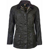 Barbour Womens Classic Beadnell Wax Jacket Olive 18