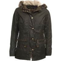 Barbour Womens Kelsall Wax Jacket Olive 8