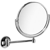 Samuel Heath Novis Pivotal Mirror Plain / Magnifying X3 Chrome Plated L119