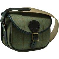 Croots Helmsley Tweed Cartridge Bag Burgundy 75