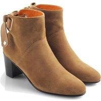 Fairfax and Favor Womens Blair Ankle Boots Tan Suede 5 (EU38)