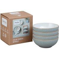 Denby Elements Light Grey Set Of 4 Cereal Bowls