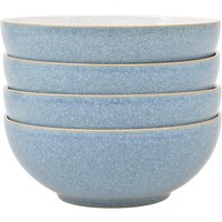 Denby Elements Light Blue Set Of 4 Cereal Bowls