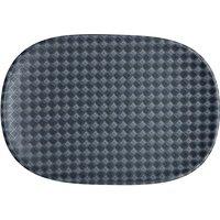 Denby Impression Charcoal Accent Medium Oblong Platter