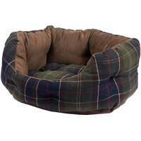 Barbour Luxury Dog Bed Classic Tartan 24 Inch
