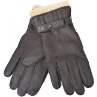 Barbour Mens Leather Utility Glove Black Small