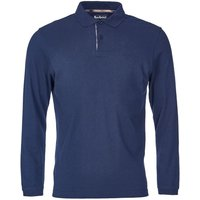 Barbour Long Sleeve Sports Polo Forest Large