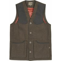 Musto Mens Stretch Technical Tweed Waistcoat AW19 Thornbury Medium
