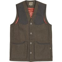 Musto Mens Stretch Technical Tweed Waistcoat AW19 Thornbury Medium