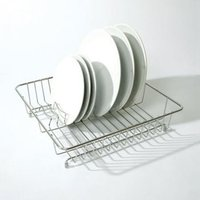 Delfinware Standard Traditional Dish Drainer Stainless Steel