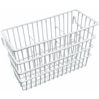 Delfinware Wire Cutlery Basket in White