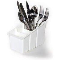 Delfinware Plastic Cutlery Basket White