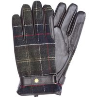 Barbour Mens Newbrough Waterproof Tartan Gloves Classic Tartan Small