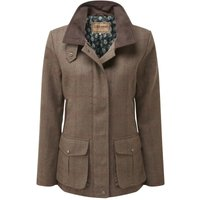 Schoffel Womens Lilymere Hacking Jacket Loden Green Herringbone Tweed 14
