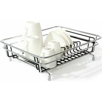 Delfinware Compact Dish Drainer Chrome Frame