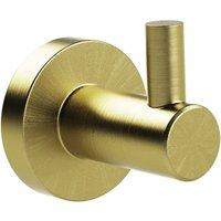 Miller Bond Brushed Brass Robe Hook