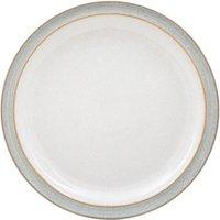 Denby Elements Light Grey Dinner Plate
