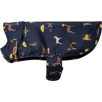 Joules Navy Water Resistant Dog Coat  Large