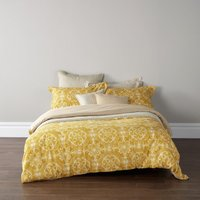 Christy Sumatra Duvet Set Ochre Single