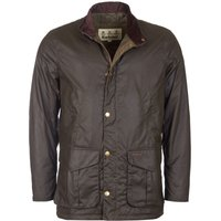 Barbour Mens Hereford Wax Jacket Peat Small