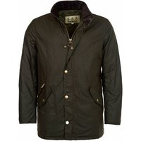 Barbour Mens Prestbury Wax Jacket Olive Small