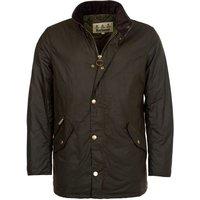 Barbour Mens Prestbury Wax Jacket Olive XL