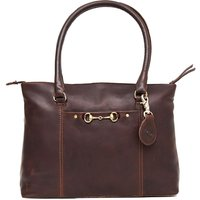 Hicks and Hide Hidcote Bit Handbag Chesnut One