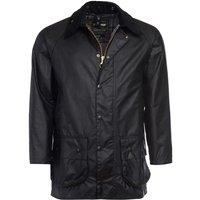 Barbour Mens Beaufort Wax Jacket Black 36