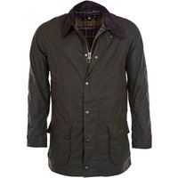 Barbour Mens Bristol Wax Jacket Navy Small