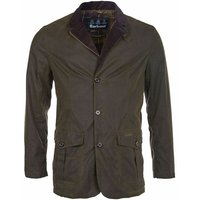 Barbour Mens Lutz Wax Jacket Olive XXL