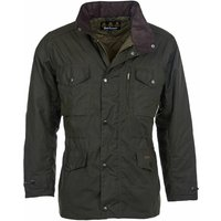 Barbour Mens Sapper Wax Jacket Olive Small