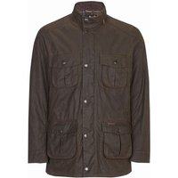 Barbour Mens Trooper Wax Jacket Olive Small