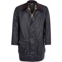 Barbour Border Wax Jacket Navy 38