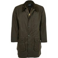 Barbour Mens Classic Northumbria Wax Jacket Olive 38