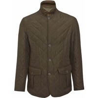 Barbour Mens Quilted Lutz Jacket Black Small