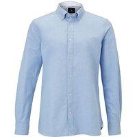 Crew Clothing Mens Slim Oxford Shirt Denim Blue Small