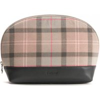 Barbour Womens Tartan Washbag Tempest Trench One