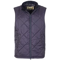 Barbour Mens Finn Quilted Gilet Navy Small