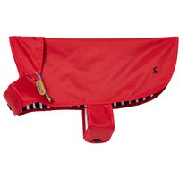 Joules Red Water Resistant Dog Coat  Large