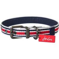 Joules Red Coastal Dog Collar  X-Large