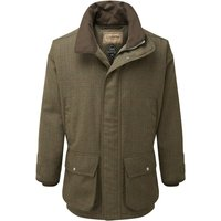 Schoffel Mens Ptarmigan Tweed Coat Buckingham Tweed 44