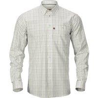 Harkila Mens Retrieve Shirt Burgundy Check Medium