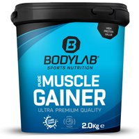 Bodylab24 Pure Muscle Gainer - 2000g - Erdbeer