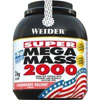Weider Mega Mass 2000 Pulver Strawberry Delight 3000g