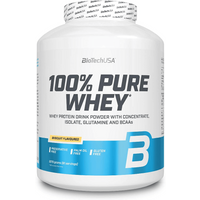 BioTech USA 100% Pure Whey - 2270g - Biscuit