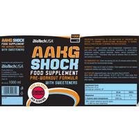 BioTech USA AAKG Shock Extreme - 1000ml - Cherry