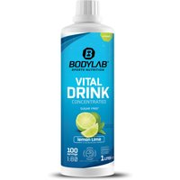 Bodylab24 Vital Drink Concentrated - 1000ml - Zitrone-Limette
