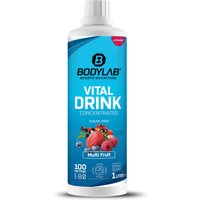 Bodylab24 Vital Drink Concentrated - 1000ml - Multifrucht